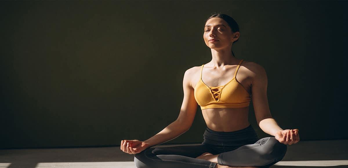 yoga on mat Koh Lanta