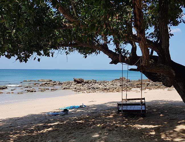 oh Lanta swing at Relax beach